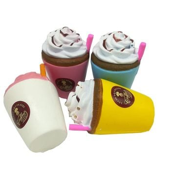 Elsadou Squishy Ice Cream Model Frappuccino Cup