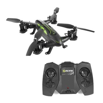Air-Road Double Model FY602 Flying Car With HD Camera 2.4G RC Quadcopter Drone 6-Axis 4CH Helicopter Run Double Sides