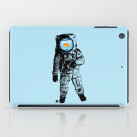 Goldfish Astronaut iPad Case by Matt Irving