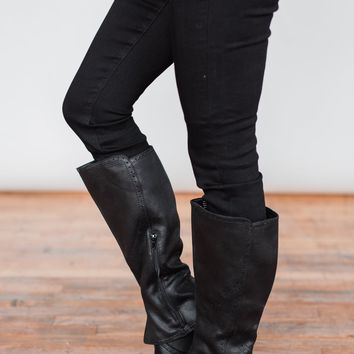 Not Rated Yuriko Boots- Black