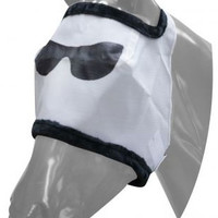 Saddles Tack Horse Supplies - ChickSaddlery.com Showman Cool Dude Funny Face Fly Mask <>