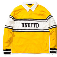 UNDEFEATED UNDFTD RUGBY L/S SHIRT | Undefeated