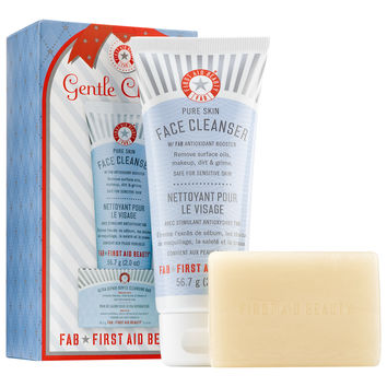 Sephora: First Aid Beauty : Gentle Cleanse : skin-care-sets-travel-value