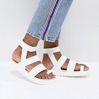 Monki Strap Detail Sandal at asos.com