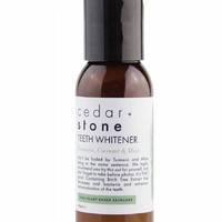 Cedar & Stone Teeth Whitener