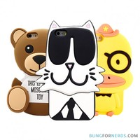 Cute Cartoon Animals - iPhone 6 Case