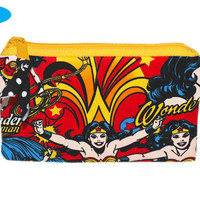 NEW Hand Pouch | Wonder Woman | Zipper Bag | Zippered Pouch | Notions Bag