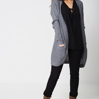 Knitted Cardigan In Light Ex-Branded