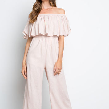 Ruffled Up Jumpsuit