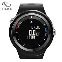 2016 TTLIFE Brand Men Sports Digital Watches Male Running Pedometer Wrist Watch Bluetooth Smart Watch analog relogio masculino