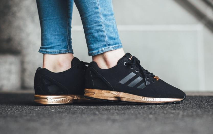 adidas flux rose gold