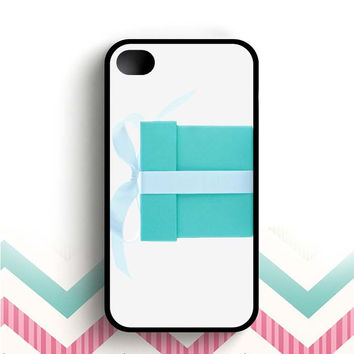 Color Branding Tiffany Blue Box Big  iPhone 4 and 4s case