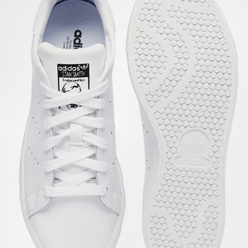 adidas Originals Stan Smith All Over White Trainers