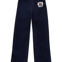 Girls Logo Velour Jc Palm Original Pant by Juicy Couture,