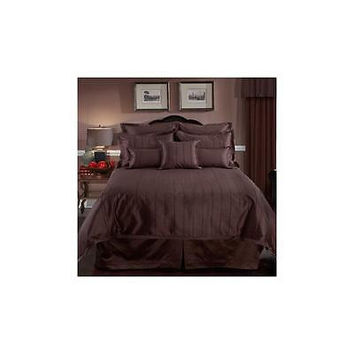 Veratex Braxton 4-Piece Bedding Comforter Set Queen