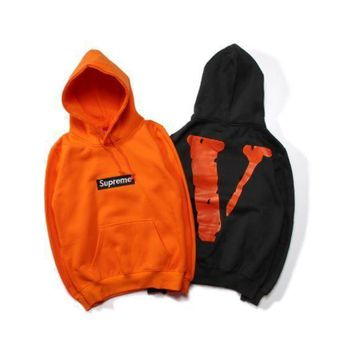 Supreme Sweater Couple Plus Cashmere Jacket