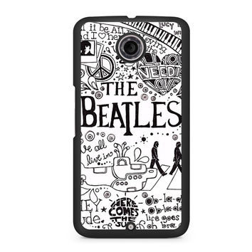 The Beatles Lyric Nexus 6 case