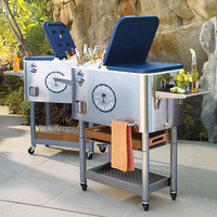Tommy Bahama Cooler with Rolling Base