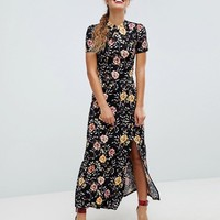 ASOS Chinoiserie Print Maxi Tea Dress at asos.com