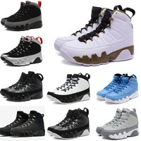 Air retro 9 Men basketball shoes OG Space Jam Tour Yellow KOBE PE The Spirit Johnny Kilroy Pantone Retro trainer sneakers eur 41-47