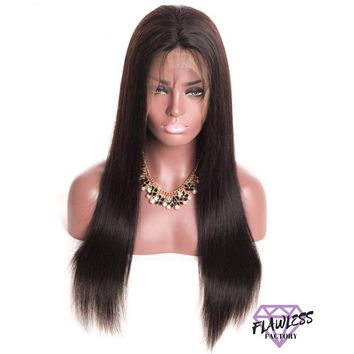 Brazilian Silky Straight Lace Front Wig
