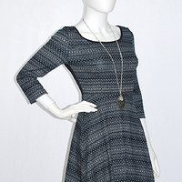 Rain Or Shine Full Skirt Knit Dress