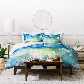 Rosie Brown Sea World Duvet Cover