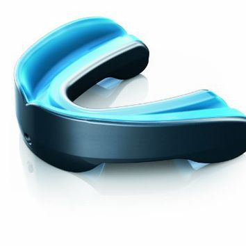 Shock Doctor Gel Nano Convertible Mouthguard (Pearl Carbon, Adult)