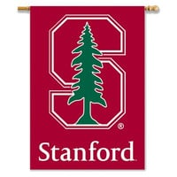 """Stanford Cardinal 2-Sided 28"""" X 40"""" Banner W/ Pole Sleeve"""