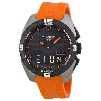 Tissot Touch Collection Titanium Mens Watch T0914204705101