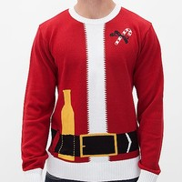 Ugly Christmas Sweater Santa Sweater