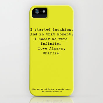 Perks of Being a Wallflower  iPhone & iPod Case by Mackenzie Hahn