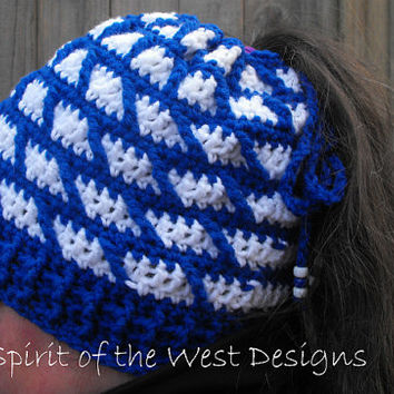 Merry Go Round pony tail hat - Crochet Pattern, Slouchy hat, Cowl, 3-in-one, neckwarmer, beanie, toque, textured, children, toddlers, adults
