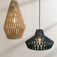 Tuyen Large Jute Pendant Light | Urban Outfitters