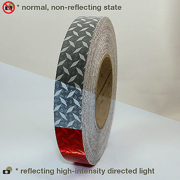 Reflexite V52 Diamond Plate Microprismatic Conspicuity Tape: