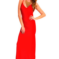 Red Long Sundress