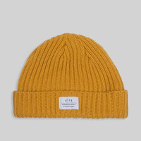 PATCH BEANIE // YELLOW