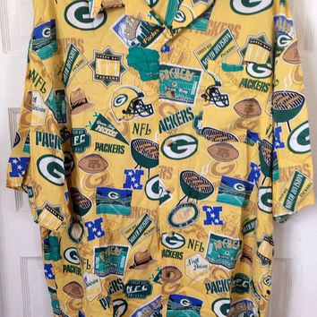 NFL Green Bay Packers Hawaiian Shirt