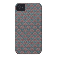 Abstract Organic Looking Reliefs. Baroque Pattern Case-Mate iPhone 4 Case from Zazzle.com