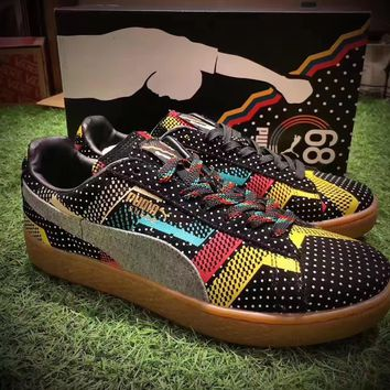 Puma Women Man Suede Bhm Jersey Mid Trending Fashion Casual Sports Shoes 36-44