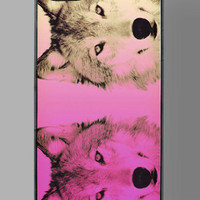 Arctic Wolves iPhone 5 Case by ZERO GRAVITY