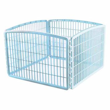 Iris Blue Four Panel Pet Containment and Exercise Pen without Door | Petco