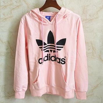 Trendsetter Adidas Women Man Fashion Casual Top Sweater Pullover Hoodie