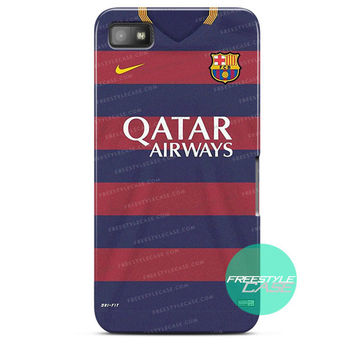 Barcelona Jersey Home 2015/2016 iPhone Case 3, 4, 5, 6 Cover