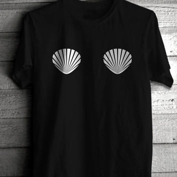 Mermaid Shell Women's Casual T-Shirt