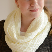 Thin Knit Infinity Scarf