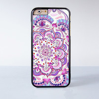 PInk Mandala Plastic Case Cover for Apple iPhone 6 6 Plus 4 4s 5 5s 5c
