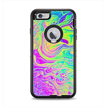 The Neon Color Fushion Apple iPhone 6 Plus Otterbox Defender Case Skin Set