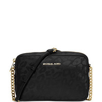 Michael Michael Kors Leopard Animal Print East West Crossbody