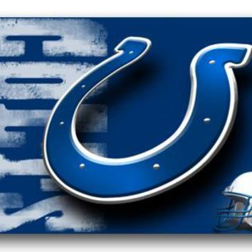 Custom Doormats INDIANAPOLIS COLTS Mat Bedroom Cushion America Football Carpets Bathroom Rugs Christmas Home Decoration #D-190#